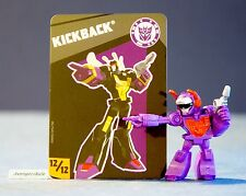 Transformers Tiny Titans Series 4 Robots in Disguise 12/12 Kickback