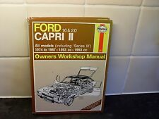 ford capri haynes manual 1.6/2.0 1974-87