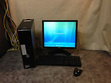 Dell Optiplex Desktop computer 755 Monitor/keybrd/mse 2.93 GHz  4GB ( LOT of 25