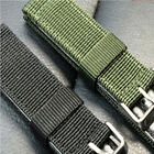 Fashion 18/20mm Nylon Wrist Watch Band Strap For Watch Stainless Steel Buckle