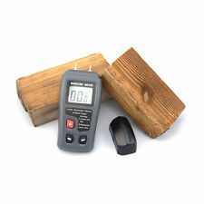 LCD 0-99.9% 2Pins Wood Industry Digital Moisture Meter Humidity Tester Timber CC