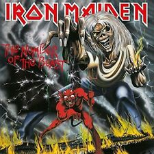 IRON MAIDEN THE NUMBER OF THE BEAST REMASTERED CD NEW