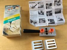 WOLFCRAFT DOWEL MASTER DOWELING JIG Model # 4660 made in West Germany w/ Instruc