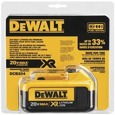 DeWALT DCB204 20V Max XR 4 Ah Battery Pack  *New*