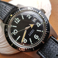 Vintage 1960's Tradition Divers Watch w/Countdown Bezel,All SS Case,Tropic Strap