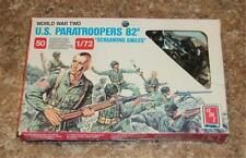 AMT W.W.II U.S. PARATROOPERS 82a 46 PIECES 1/72 HO/OO SCALE