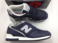 Vintage DS New Balance 996 Navy Men Boys sz 5.5 Og Shoe Running Rare NB Rare