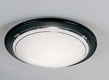 BLACK Flush soffitto di vetro o muro luce