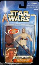 Star Wars Ataque De Los Clones Obi-Wan Kenobi Acklay Batalla Rara! nuevo! McGregor