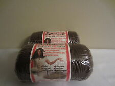 Lot of 2 rolls of Brown 4mm Bonnie Braid Braided Macrame Craft Cord 200yds