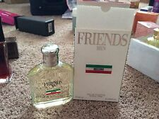 FRIENDS MEN MOSCHINO 4.2 OZ / 125 ML EDT SPRAY RARE ORIGINAL CLASSIC OLD Formula