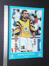 RARE JEROME ALONZO OLYMPIQUE MARSEILLE OM FOOTBALL CPA FRANCE 1996-1997