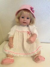 "Adora 19"" BABY PLAY DOLL Blonde Hair Blue Eyes"