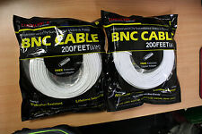 New 2 High Quality 200FT BNC Extension CCTV Cable for Samsung,Kguard,Swan,Lorex