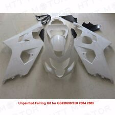 Unpainted ABS Plastic Injection Fairings Bodywork for 04-05 Suzuki GSXR 600 750