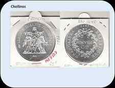 50  FRANCOS DE PLATA AÑO 1977  FRANCIA   ( MB8507 )