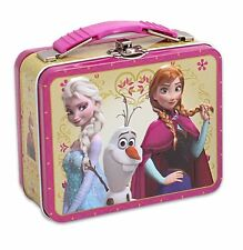 DISNEY FROZEN ELSA AND ANNA NAIL POLISH & TIN BOX SET PINK