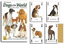 Dogs of The World set of 52 playing cards + jokers (hpc)
