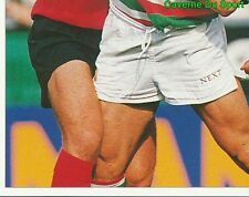 311 AUSTIN HEALEY LEICESTER TIGERS 3  STICKER PREMIER DIVISION RUGBY 1998 PANINI