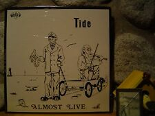 TIDE Almost Live LP/STILL SEALED ORIGINAL 1971 MOUTH LABEL PRESS/Acid Archives