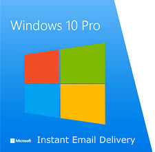 Genuine Windows 10 PRO 32 / 64bit OEM ORIGINALE codice di licenza rottami PC