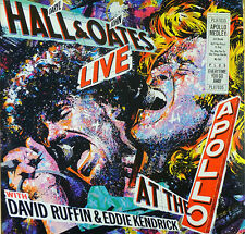 Daryl Hall & John Oates - Live at the Apollo - LP - washed - cleaned - L2437