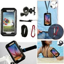 IPX8 Waterproof 4in1 Bike Bicycle Swim Case Holder For Samsung Galaxy S6/S6 Edge