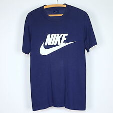 Nike Shirt Vintage tshirt 1980s Just Do It Nike Swoosh Blue Tag Sports tee 80s