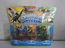 Skylanders Spyro's Adventure - Drobot, Flameslinger, Stump Smash - NEU & OVP