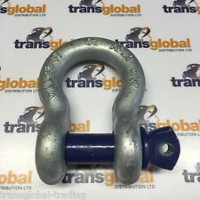 Galvanised Bow Shackle 4.75T - 4x4 Off Roading,Towing, Winching, Recovery