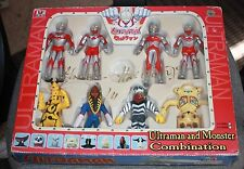 Ultraman and Monster Combination signed Tsuburaya Prod. by T.C. Ruishi 2003 NIB