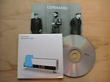 LORRAINE - TRANSALANTIC FLIGHT (RARE PROMO CD SINGLE + PROMO POSTCARD)