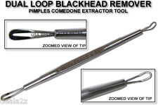 1 Blackhead Remover Comedone Extractor Tool With Dual Loop 7003
