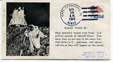 1965 Giant Titan 3C Cape Canaveral U.S. Spaceman Space-vehicle Moon USA SPACE