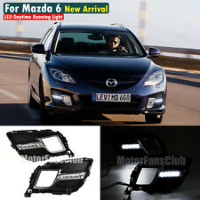 LED Daytime Running Light For Mazda 6 Atenza Sport DRL Fog Lamp 2008 2009 Signal