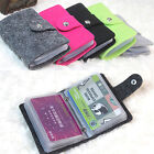 Retro Women Pouch ID Credit Card Wallet Cash Holder Organizer Case Box Pocket