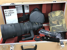 Nikon AF-I 500mm f/4 D Nikkor ED Lens Complete w/ CT-501 case - Gorgeous Glass