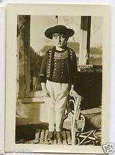 Portrait jeune garçon en costume breton Bretagne - Photo ancienne an. 1930