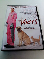 "DVD ""THE VOICES"" PRECINTADO SEALED MARJANE SATRAPI RYAN REYNOLDS GEMMA ARTERTON"