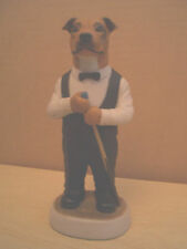 RED STAFFS BULL TERRIER SNOOKER  CC64A VERSION ROBERT HARROP