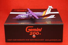 GEMINI JETS 200-527 FLYBE ATR72-500  reg EI-REL WITH STAND 1-200 SCALE