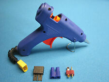 CHORDLESS HOT GLUE GUN USES 3S LIPO BATTERY PORTABLE TRX EC3 DEANS T PLUG 4MM