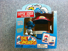 Smurfs Dippin 'Diner Playset The Plus Pitufo Figura 1996