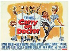 "Carry On Doctor 16"" x 12"" Reproduction Movie Poster Photograph 3"