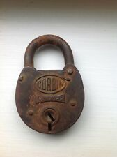 Vintage Corbin Ironclad Six Lever Padlock City Of Chicago Board Of Education
