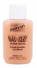 MEHRON 3-D FLESH GELATIN EFFECTS COSTUME MAKEUP DD142F