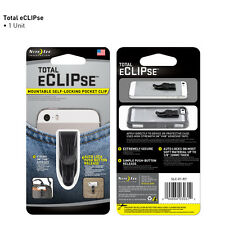 NITE IZE TOTAL ECLIPSE POCKET CLIP for SMARTPHONES GALAXY S IPHONE DROID HTC NEW