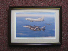 Ronald Wong Aircraft print 'Deny Flight Patrol' FRAMED