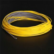 Wind Cutter Fly Fishing Line Weight Forward Floating 100FT 6WT Grey&Yellow