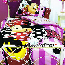 Minnie Mouse Disney Mad about Shopping - Double/Full Bed Quilt Doona Duvet Cover